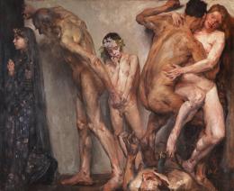 Lovis Corinth, Die Lebensalter (Teil I), 1904  Privatbesitz, Foto: Alexander Laurenzo