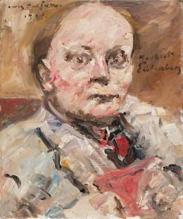 Lovis Corinth, Herbert Eulenberg, 1924  Foto: Johannes Stoll / Belvedere, Wien