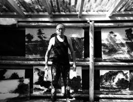 Xianwei Zhu Galerie Schloß Mochental (Atelier) Sommer 2018