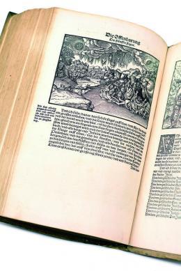 Martin Luther: Biblia / das ist / die gantze Heilige Schrifft Deudsch, 2. Bd., Gedruckt durch Hans Lufft, Wittenberg, 1534 – © Österreichische Nationalbibliothek
