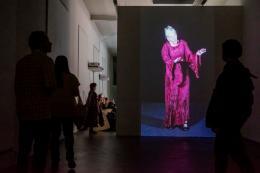 """L' univers de Germaine"", Installationsansicht Kunsthaus Baselland, 2018, Foto: Ismael Lorenzo"