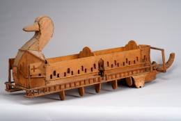 Theodor K. (1875–1941)  Schiff mit Entenkopf aus Holz, undatiert  Sammlung Königsfelden, CH, © PDAG, Windisch