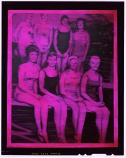 Gerhard Richter: Schwimmerinnen, 1965, Öl auf Leinwand, 200 x 160 cm; Sammlung Froehlich, Stuttgart, © Gerhard Richter 2018