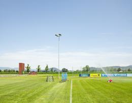 Römerstadion und Freiluftmuseum Römervilla, Rankweil, Österreich, 2019 © Alfred Seiland