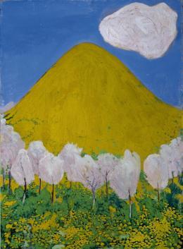 Cuno Amiet (1868 –1961), Der gelbe Hügel, 1903, Tempera auf Leinwand, Kunstmuseum Solothurn © Daniel Thalmann, Aarau, Schweiz
