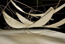 Modell der Rauminstallation im Gewerbemuseum Winterthur, 2020 © Anna Rubin
