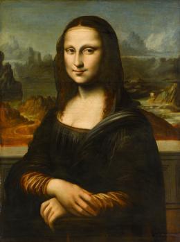 Anonym, Deutsch oder Niederländisch, Mona Lisa, 16./17. Jahrhundert (Kopie nach Leonardo da Vinci) Öl auf Eichenholz, 73 x 53,7 cm Staatsgalerie Stuttgart, Foto: © Staatsgalerie Stuttgart