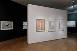 """Ausstellungsansicht """"Erdruckt und erstochen"""",  Foto: Universalmuseum Joanneum/N. Lackner"""