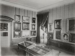 Ansicht der ständigen Sammlung: Die Sammlung Hamburgischer Meister vom 15. bis 18. Jahr- hundert, 1898 Foto: unbekannt © Hamburger Kunsthalle