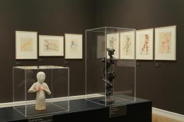 """Blick in die Ausstellung """"Passion Kunst. Die Sammlung Rombold"""", 27. Feb. bis 1. Juni 2020, Landesgalerie Linz © Oö. Landesmuseum, A. Bruckböck"""