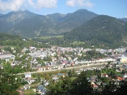 Blick vom Siriuskopf auf Bad Ischl (Foto: Wikipedia/ Mrs. Myer/ CC)