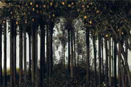 José Manuel Ballester Primavera, 2015 Digitaldruck auf Leinwand, 203 x 314 cm Leihgabe des Künstlers Foto: José Manuel Ballester