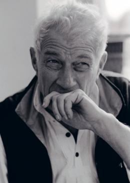 John Berger (Bild: zVg, Foto: Ute Schendel, 2002)