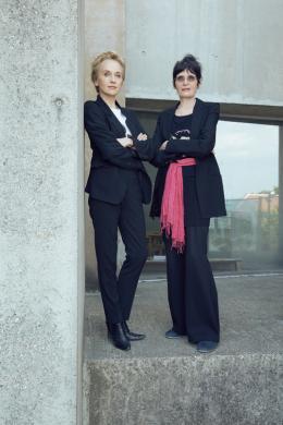 Renate Bertlmann, Felicitas Thun-Hohenstein  © Irina Gavrich