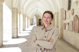 Bettina Habsburg-Lothringen,  Leiterin des Museums für Geschichte (Kulturhistorische und Multimediale Sammlungen) sowie des Landeszeughauses, Foto: Klaus Pichler