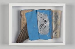 Aljoscha Ségard, Federspiel, unbekannt (ca. 2018/19), Assemblage, 25,5 x 20 x 5,5 cm, Nachlass Aljoscha Ségard