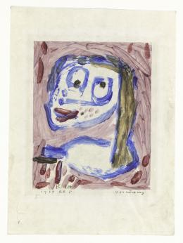 Paul Klee, Verrückung, 1939, 805, Kleisterfarbe auf Papier auf Karton, 26,9 x 21,4 cm © Zentrum Paul Klee, Bern, Schenkung Livia Klee