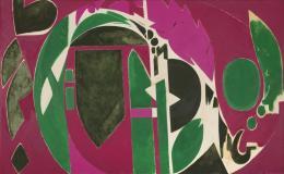 Lee Krasner, Palingenesis, 1971, Öl auf Leinwand, 208.3 x 340.4 cm, Pollock-Krasner Foundation, New York, Foto: Kasmin Gallery, New York © The Pollock-Krasner Foundation