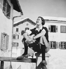 Annemarie Schwarzenbach, Margot Lind in Sils, Engadin, Schweiz, 1936, Schweizerisches Literaturarchiv | Schweizerische Nationalbibliothek, Bern, Nachlass Annemarie Schwarzenbach