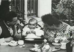 Still aus den ersten Filmen der Gebrüder Lumiere (Bild: Screenshot)