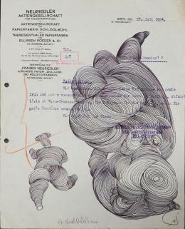 Gottfried Bechtold: Neusiedler (2017, 28,,5 x 22,4 Zentimeter)