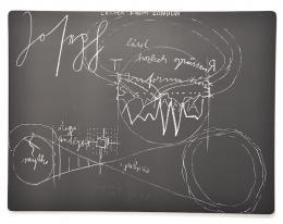 Joseph Beuys: Letter from London (Lithografie auf Bütten auf Holzplatte)