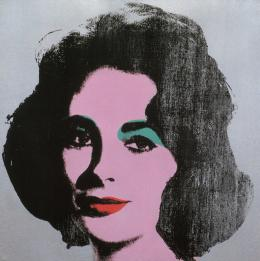 Andy Warhol: Silver Liz, 1963, Sammlung Froehlich, Stuttgart © 2019 The Andy Warhol Foundation for the Visual Arts, Inc. / Licensed by Artists Rights Society (ARS), New York. Foto: Sammlung Froehlich, Stuttgart
