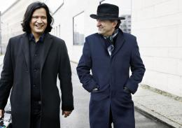 Claudio Bohórquez und Péter Nagy, Foto Gregor Hohenberg