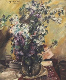 Lovis Corinth: Apfelblüten und Flieder, Öl auf Leinwand, 1920 (© Hilti Art Foundation)