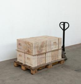 Jan Hofer, The New New Material, 2019 (in Aufbau) © Jan Hofer