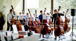 The Incredible String Quartet - Kontrabassklasse Francisco Obieta