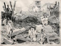 Pat Noser, Stadtguerrilla, 2019 Tusche auf Karton, 150 x 200 cm