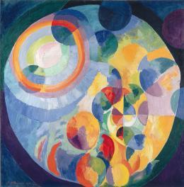 Robert Delauny Formes circulaires. Soleil, lune , 1913 – 1931 (Kreisformen. Sonne, Mond) Öl auf Leinwand Kunsthaus Zürich