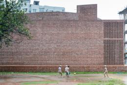 Bait Ur Rouf Mosque Faydabad, Dhaka, Architect: MTA / Marina Tabassum Architects  Copyright: Iwan Baan