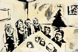 Christian Eisenberger, Weihnachten 1944, 2008 (c) Spreegold Collection Berlin, Bildrecht Wien, 2019, Foto: Lena Deinhartstein
