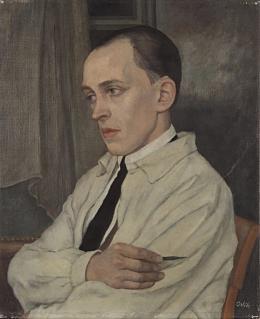 Emil Orlik, Bildnis des Malers Joachim Rágóczy, um 1926, Repro: Kai-Annett Becker