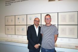 Eröffnung Tex Rubinowitz (c) Karikaturmuseum Krems