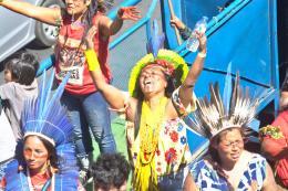 Indigenas, Marcha das Mulheres, 14.9.2019, Brasilia, Foto: Douglas Freitas