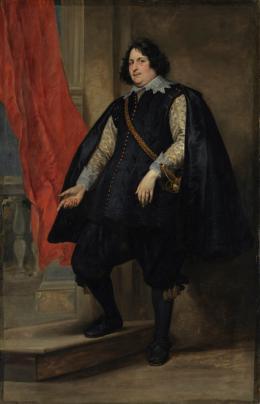 Anthonis van Dyck, Filips Godines, um 1630. Öl auf Leinwand, 211,5 x 137,5 cm; © Bayerische Staatsgemäldesammlungen, Alte Pinakothek, München