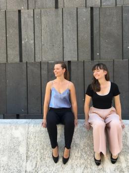 Simone Waldhart und Maria-Pilar Pereira