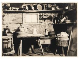 """""""Der Speicher"""" in einem Bauernhaus in Schwarzenberg, Franz Beer, Fotografien, 1940, Reproduktionen"""