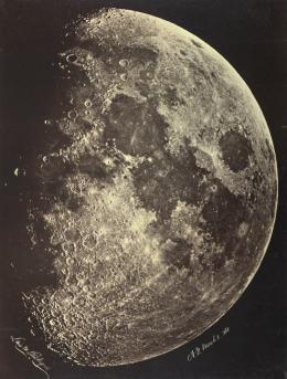 Moon, New York, March 8, 1865; © ETH-Bibliothek Zürich, Bildarchiv