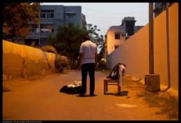 "Bani Abidi, ""Karachi Series I"", 2009. Leuchtkästen, 50,8 x 76,2 cm. Bani Abidi, Courtesy: die Künstlerin & Experimenter, Kolkata"