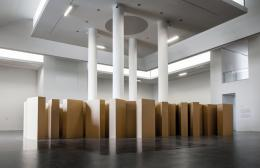 "Gustav Metzger, ""In Memoriam"", 2005. Installation: Foto: Wojciech Olech, Courtesy: Centre of Con-temporary Art in Toruń"
