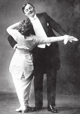 "Tango, 1913 Aus: ""Berlin tanzt in Clärchens Ballhaus"", Marion Kiesow, 2013"