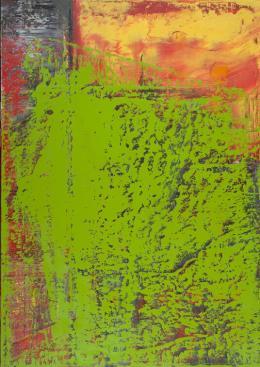 Gerhard Richter Abstraktes Bild, 2001  © Gerhard Richter, Albertina, Wien – Dauerleihgabe aus österreichischem Privatbesitz