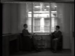 Gilbert & George, Gordon's Makes Us Drunk, 1972 1-Kanal-Video, s/w, Ton; erworben als U-matic, PAL, 4:3, 12' Kunsthaus Zürich, Vereinigung Zürcher Kunstfreunde, Gruppe Junge Kunst, 1980, © Gilbert & George