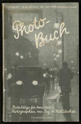 Ratschläge für Amateurphotographen, Bucheinband zu Alexander Niklitschek