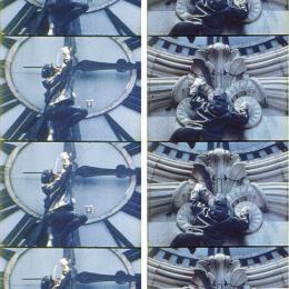 Gordon Matta-Clark Clockshower, 1974 (Uhrdusche) Filmstill © Bildrecht, Wien, 2019 / Sammlung Generali Foundation – Dauerleihgabe am Museum der Moderne Salzburg, Foto: Werner Kaligofsky