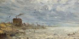 Emil Jakob Schindler, Meeresküste von Sylt, 1892 Foto: Johannes Stoll © Belvedere, Wien